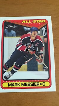 Mark Messier collectible card Ottawa, K1V 0B2