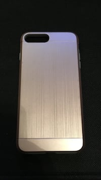 iPhone 7 Plus rose gold and grey 2 piece case Phoenix, 85040