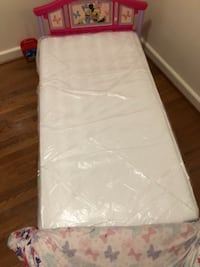 white and pink bed mattress WASHINGTON
