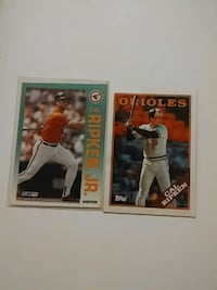 two baseball player cards Frostburg, 21532
