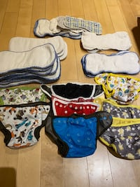 VGUC Best Bottoms Cloth Diaper Lot