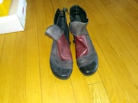 pair of black leather boots Gatineau, J9H 7G8