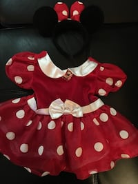 baby girl's Minnie Mouse costume Mississauga, L5M
