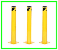 ⚠ Steel Safety Bollards, Rails, and Grip Steps ⚠ | LOCAL PICK UP ONLY*