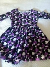 women's purple and white floral dress Whittier, 90602