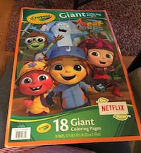 Giant Beat Bugs Coloring Book Aurora, 60503