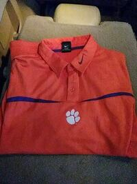 Clemson collared shirt by Nike Columbia, 29201