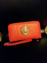 red Michael Kors leather wristlet Lawndale, 90260