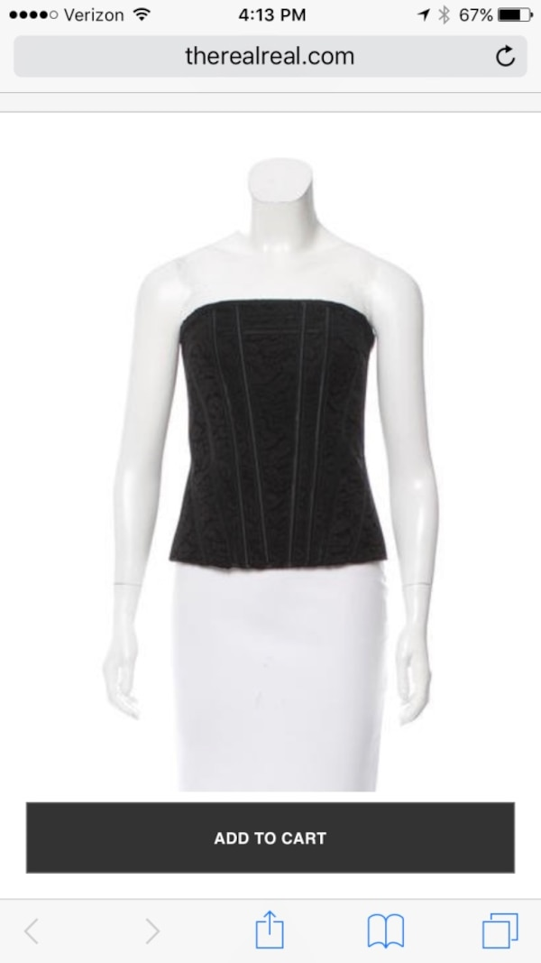 New with Tags! Alice & Olivia Corset