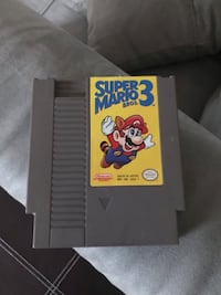 Super Mario 3 Nintendo Cartridge