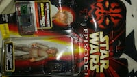 Star Wars Episode 1 Anakin Skywalker action figure in slide blister package