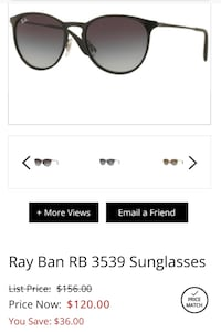 New Ray Bans wore maybe twice for like an hour lol Aurora, 80017