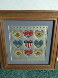 Cute Heart Wall Hanging / Wall Picture
