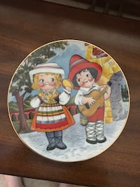 Dolly Dingle Collector Plate Toronto, M3K 1N8