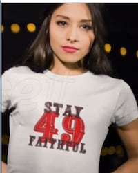 49ers STAY FAITHFUL T-Shirts men's women's youth