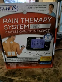 Brand new I n the box DR Ho S pain therapy system  4 pads professional Windsor, N8X 3S2
