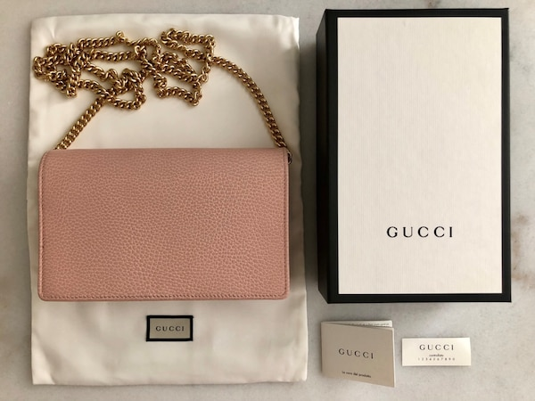 3d1b6d054b62 Used Gucci Marmont leather mini chain bag for sale in SF - letgo