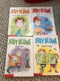 4 Judy Blume books Pointe-Claire, H9R 5S5