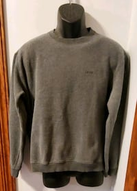 IZOD Solid Gray Long Sleeve Shirt Middletown, 21769