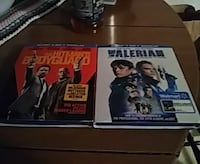 two movie DVD cases