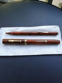 "Vintage Watermans ""52"" Fountain Pen and Pencil Set"