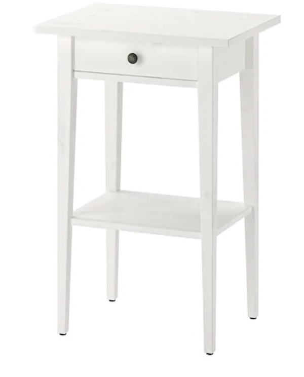 Used Hemnes Night Stand White Stain From Ikea For In Toronto Letgo