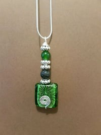 Jade essentially oil necklace handmade Cambridge