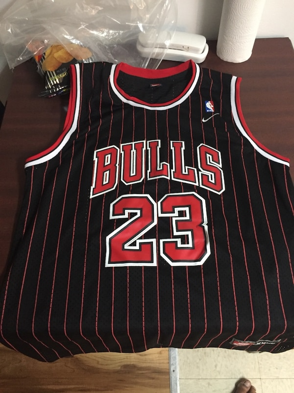 premium selection 3342d bf993 Black and Red Jordan jersey