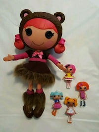 LALALOOPSY DOLLS ALL FOR $5  London, N6H 1T5