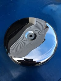 HARLEY DAVIDSON CHROME ROUND AIR CLEANER COVER