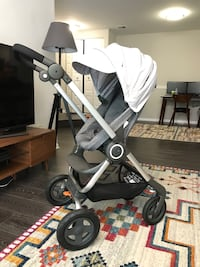 Stokke Scoot stroller  with Maxi-Cosi Pebble Car seat 13 km