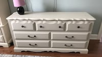 White wooden 3-drawer chest Blainville, J7E