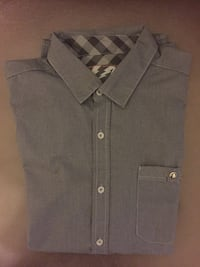 Black chambray button-up collared shirt Las Vegas, 89117