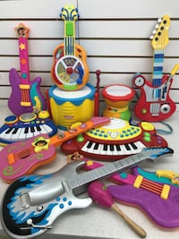 (521) KID'S GUITARS, KEYBOARDS, DRUMS – Only 5$