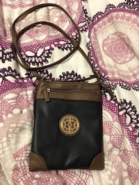 Black and Brown Leather Crossbody  Naperville, 60540
