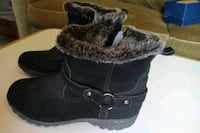 Black Suede Booties Size 8 Fairfax, 22030