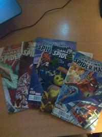 The Amazing Spider-Man Comics 1-5 8268 km