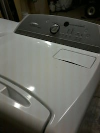 white and gray front load cloths dryer 2363 mi