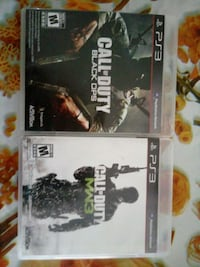Ps3 cod mw3 and black ops Swap/trade Waterloo