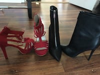 pair of black and red leather pumps Hyattsville, 20785