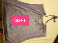 Ladies size large halter top