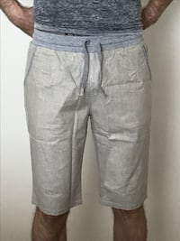 grå denim shorts ny Oslo, 0571