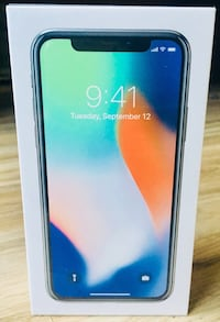 Apple Iphone X 256 GB Unlocked Factory Sealed New 1 Yr Apple Warranty With Apple Receipt Chicago, 60621