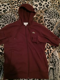 BURGUNDY LACOSTE SWEATER SMALL New York, 10467