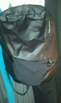 Black Northface backpack