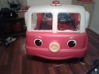 pink and white Little Tikes cozy coupe Nashville, 37211