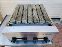 """24"""" Charbroiler Grill - Restaurant Equipment - Catering - Cafeteria -"""