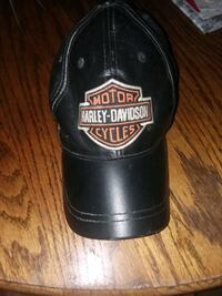 black Harley-Davidson Motorcycles cap Roanoke, 24012