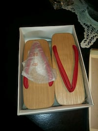 Authentic Japanese Giesha shoes/sandals 1358 Lubbock, 79404