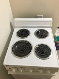 white and black electric coil range oven Rockville, 20850